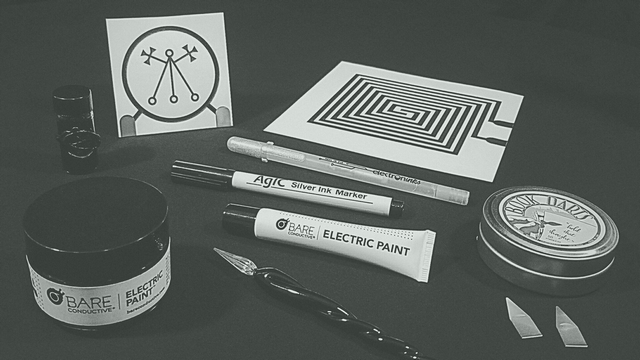 Conductive Paint and Ink